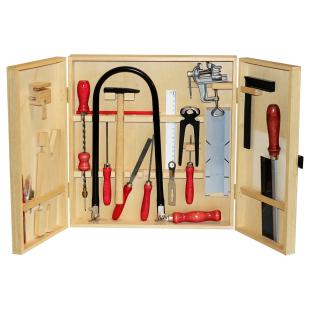 Laubsäge-und Werkzeugschrank