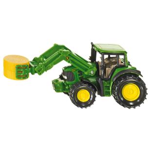 Traktor mit Ballenzange