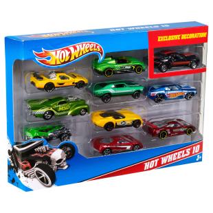 Hot Wheels 10-er Geschenk