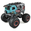Crazy Bus Monster Truck blau