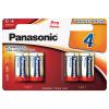 Batterie Panasonic C, 4-er