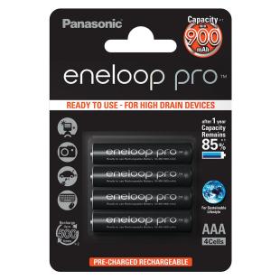 Batterie Eneloop Pro 4xAAA