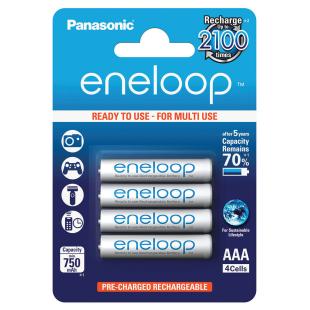 Batterie Eneloop 4xAAA