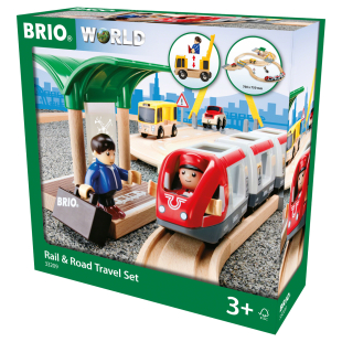 Bahn Reisezug-Set Strassen