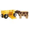 Tierwagen mit Kuh