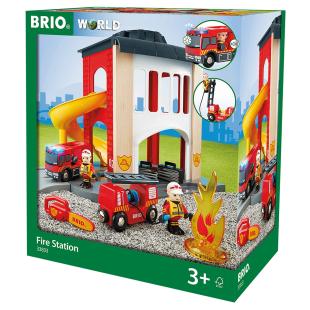 Grosse Feuerwehr-Station