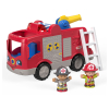 Le camion de pompiers, f