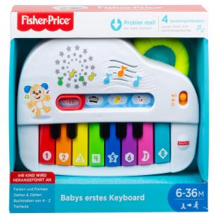 Babys erstes Keyboard, d