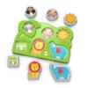 Dschungel-Tierpuzzle