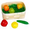 Korb mit Gemüse und Früchten
