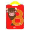 Buchstabe B Bison