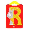 Buchstabe R Rhinozeros