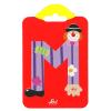 Buchstabe Clown M