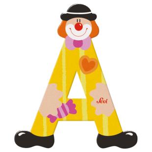 Buchstabe Clown A