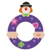 Buchstabe Clown O