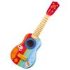 Gitarre bunt mit Tiermotiven