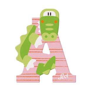 Buchstabe A Alligator