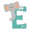 Buchstabe E Elefant