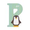 Buchstabe P Pinguin