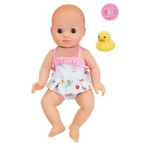 Badepuppe Girl mit Entchen