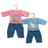 Pullover mit Jeans, 35-45 cm
