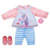 Outfit mit Einhorn, 3-teilig