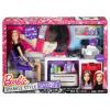 Barbie Glitzer-Salon & Puppe