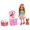 Chelsea Puppe mit Spielstand