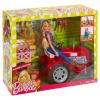 Barbie Bäuerin und Traktor