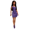 Barbie Puppe Kleid violett/