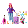 Barbie Travel Puppe pink