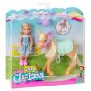 Chelsea und Pony