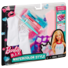 Barbie Wasserfarben-Design