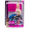 Barbie Rollstuhl mit Puppe