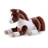 Pferd braun-weiss, 42 cm