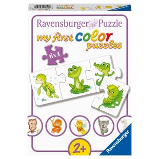 Puzzle Meine liebsten Tier-