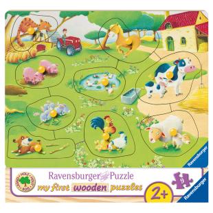 Puzzle Kleiner Bauernhof