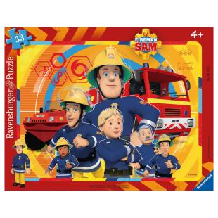 Puzzle FS Feuerwehrmann Sam