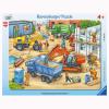 Puzzle Baustellenfahrzeuge