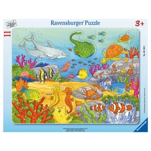 Puzzle Fröhliche Meeres-