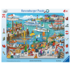 Puzzle Ein Tag am Hafen
