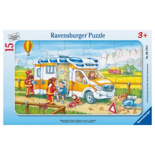 Puzzle Krankenwagen Einsatz