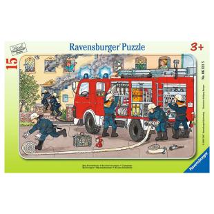 Puzzle Mein Feuerwehrauto