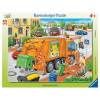 Puzzle Müllabfuhr