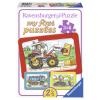 Puzzle Bagger, Traktor und