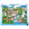 Puzzle Besuch im Zoo