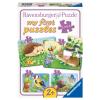 Puzzle Süsse Gartenbewohner