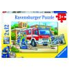 Puzzle Polizei u. Feuerwehr