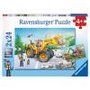 Puzzle Bagger u.Traktor