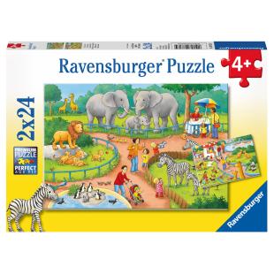 Puzzle Ein Tag im Zoo